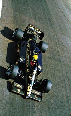""" Ayrton Senna l Italy 1985 """