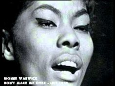 Dionne Warwick - Don't Make Me Over - Live 1963 - YouTube