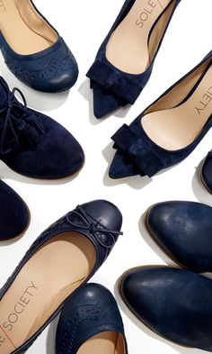 The Perfect Fall Flats - love the navy