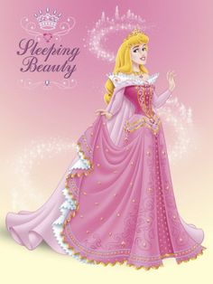 sleeping beauty = Long sleeve light pink shirt, Bright Pink tee shirt/tank, White ribbon sleeve, Pink tutu with yellow ribbons, white/light pink leggings