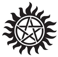"""Supernatural Pentagram 4"""" Custom Decal by TAGGraphix on Etsy"""