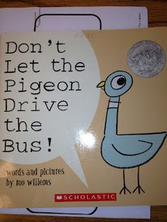 Great book to use for opinion writing - should the pigeon drive the bus or not?