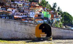 Vista da comunidade da Gamboa/ Solar do Unhão - Salvador - Bahia - Brasil
