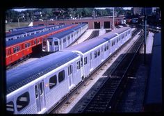 TTC Toronto Transit 35mm Trolley-[Slide #2344]-1965 Davisville 1st Day Subway
