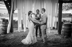 Blue Moon Barn Wedding :: Emmie+Dave #cedarwoodweddings