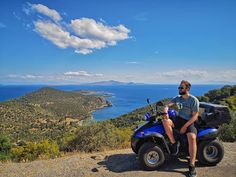 The journey of discovering the wilderness of Poros starts when you get yourself some wheels. Exploring the northen parts of this island… Ely, Travel Couple, Wilderness, Exploring, Places To Visit, Wheels, Journey, Europe, Island