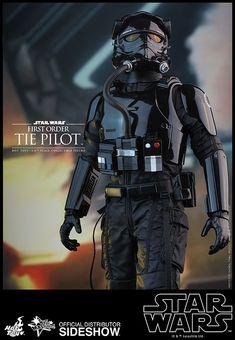 Star Wars First Order TIE Pilot Sixth Scale Figure by Hot To | Sideshow…