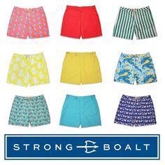 It's a colorful life #bestsellers #boardshorts #menswear #swimwear #dresstoswim strongboalt.com