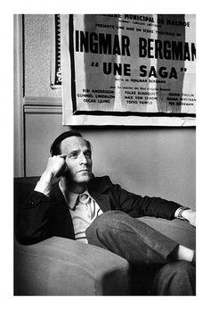 Ingmar Bergman, Paris, Avril 1959 - http://www.indiegogo.com/projects/u-r-not-alone/x/536608