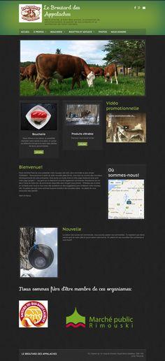 Le broutard des Appalaches • Agroalimenaire  • Esprit-Saint | Réalisé avec Mon site Primo, solution pour créer son propre site Web