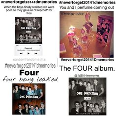 #NeverForget20141DMemories the album!