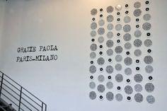 Vosgesparis: A message from my Parisian reporter Merci Shop, Merci Paris, Paola Navone, Black N White, Parisian, Concept Stores, Messages, Display, Wall Art