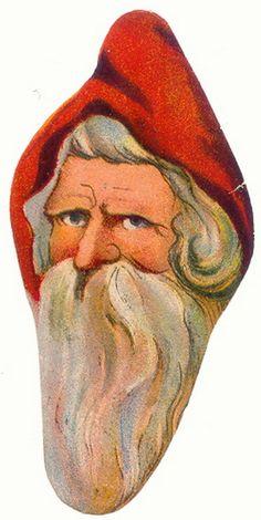 Altes Poesiebild Oblate Glanzbilder Scaps Weihnachtsmann | eBay