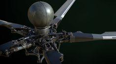 ArtStation - mi-28n main rotor, Alexey Konzelko