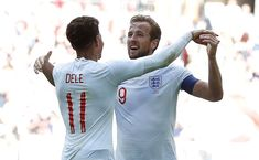 """Tottenham Hotspur and England midfielder Dele Alli says that it is """"a joy to play with"""" Harry Kane for club and country. Dele Ali, Harry Kane England, Tony Adams, Tottenham Hotspur Players, Premier League Goals, England Players, Soccer Fifa, Football Match, Football Team"""