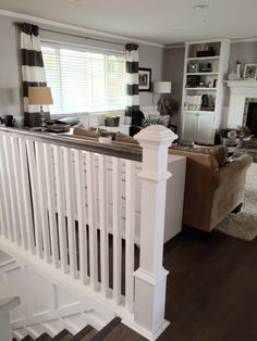 Keep Home Simple: A New Stair Rail and Other Simple Changes