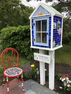 My new Little Free Library
