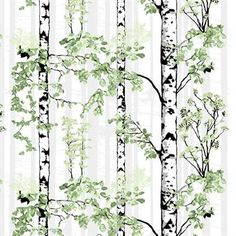 Add a touch of nature to your home with the Luontopolku oilcloth by the Finnish design brand Vallila Interior. The pattern was designed by Riina Kuikka and depicts a birch tree forest in bloom. The water and dirt repellent surface makes the oilcloth great for both indoor and outdoor! Available in different colors.