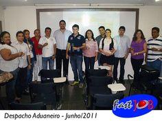 Turma do Curso Despacho Aduaneiro em Junho/2011