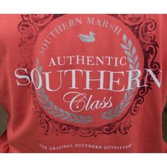 Southern Class Tee in Burnt Sienna by Southern Marsh