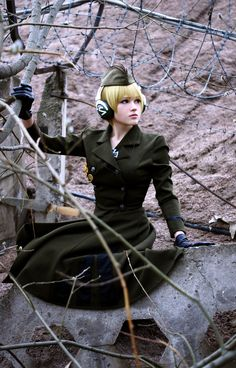 Fem Germany III by angriberen.deviantart.com on @deviantART - Nyotalia cosplay. I really love how this came out.