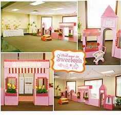 great party ideas for girls, great blog with lots of cute ideas