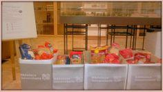 Campaña recogida alimentos 2012 Biblioteca UCLM Campus de Toledo