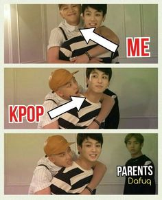 sometimes I think it's the other way..kpop holds me in its claws