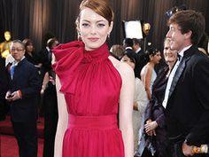Loved Emma Stone's oscar dress last night #classy