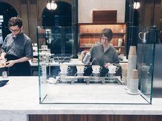 Cheap Coffee Shops Near Me Coffee Lab, Blue Bottle Coffee, Cheap Coffee, Coffee Shop Design, Shopping Near Me, Coffee Gifts, Milk Tea, Modern Industrial, Coffee Shops