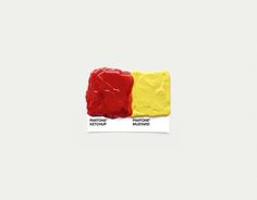 Pantone Pairings by David Schwen, via Behance