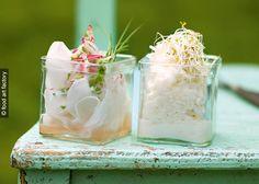 Rezept für Rettich-Salat mit Radieschen und Schalottten.