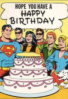 Superman cumplió años el 29 de febrero, por eso se mantiene joven @_@ http://foromb.com.ar/index.php/topic,2593.0.html