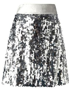 Dolce & Gabbana Sequin Embellished Skirt - Smets - Farfetch.com