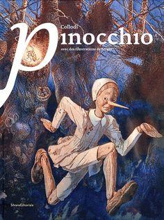 Livre : Pinocchio illustré par Sergio - Sergio - Editions Silvana