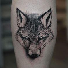 A beleza de tatuagens em estilo rascunho   Tinta na Pele