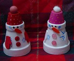 Terra+Cotta+Pot+Christmas+Crafts | ... terra cotta pots snowman terra cotta pot a simple holiday craft