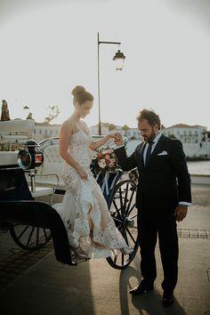 spring wedding in Spetses