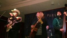 The Salvation Alley String Band at the Parlor Room for First Night Northampton Dec 31, 2013.