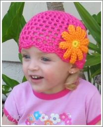Welcome to Luv 2 Crochet! ~ Free Pattern ~ I made this hat last night, for Ronald McDonald's House (pic to follow) Very easy, very pretty.