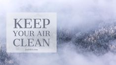 Keep your air clean. Change your air filters once a month! #HealthyHomeTips