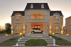 A+R Arquitectos - Casa estilo Clásico Francés - PortaldeArquitectos.com