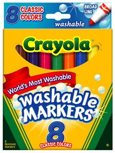 Starts Sunday: $0.97 Crayola Washable Markers! Print Now!