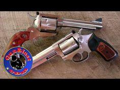 "Ruger Blackhawk ""Flattop"" 357/9mm Convertible and SP101 327 Federal Magnum - Gunblast.com - YouTube"