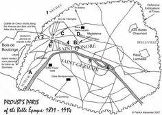 Patrick Alexander's Proust's Paris: Rachel, Prince de Guermantes, Odette de  Crécy, Verdurins, Swann and Proust's homes