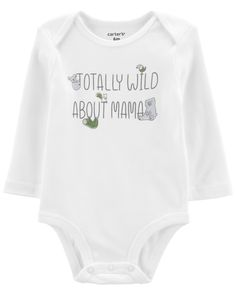 Boho Baby Clothes, Outfit Maker, Carters Baby, Bodysuit, The Originals, Long Sleeve, Sleeves, Cotton, Shopping