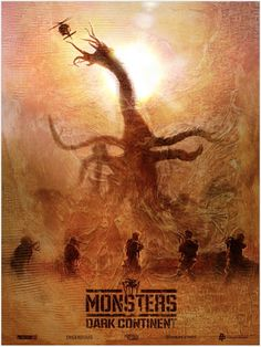 """Monsters - Dark Continent - Paul Shipper ---- Poster Posse Project #16 Explores War With An Alien Presence In: """"Monsters: Dark Continent"""" Phase 1 (2015-04)"""