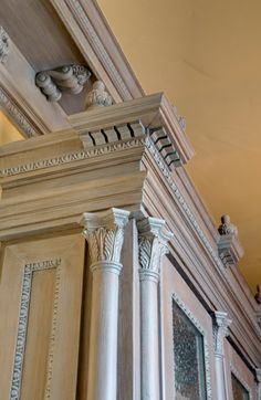 Beautiful hardwood mouldings embellish every aspect of architectural detail in your home. Elegance, warmth, and sophistication.