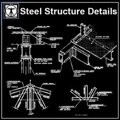 Modern interior House Design Trend for 2020 Truss Structure, Steel Structure Buildings, Autocad, Cad Symbol, Structural Drawing, Cad Library, Paving Design, Neoclassical Interior, Types Of Steel