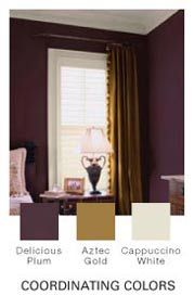 Delicious Plum, the new color of my master bathroom.